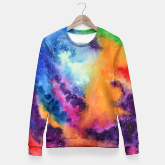 Thumbnail image of Colours of unicorn Island Fitted Waist Sweater, Live Heroes