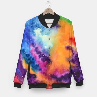 Imagen en miniatura de Colours of unicorn Island Baseball Jacket, Live Heroes