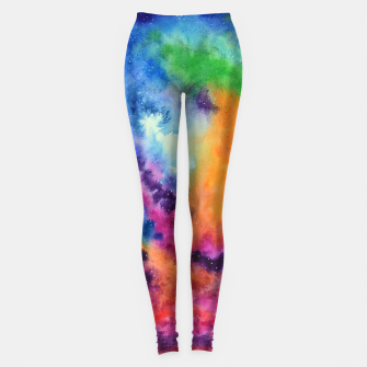 Thumbnail image of Colours of unicorn Island Leggings, Live Heroes