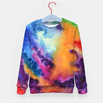 Miniature de image de Colours of unicorn Island Kid's Sweater, Live Heroes