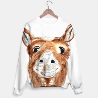 "Miniatur ""JACKpot"" animal illustration, cute and funny Sweater, Live Heroes"