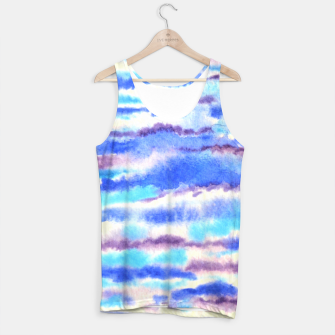 Miniatur Waves, water, ocean, summer, blue, surf Tank Top, Live Heroes