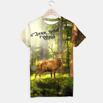 Thumbnail image of Free Your Mind T-Shirt, Live Heroes