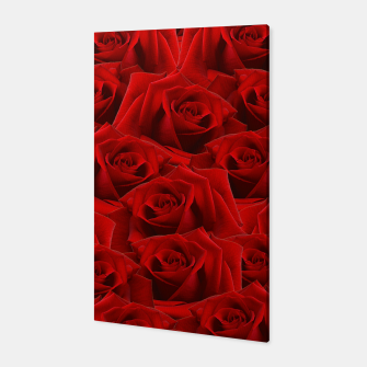 Thumbnail image of Romantic Red Rose Canvas, Live Heroes