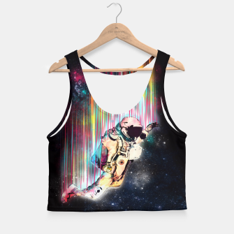 Thumbnail image of FALLIN Crop Top, Live Heroes