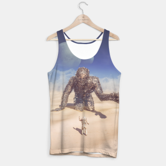 Miniatur Wandering in the Desert Tank Top, Live Heroes