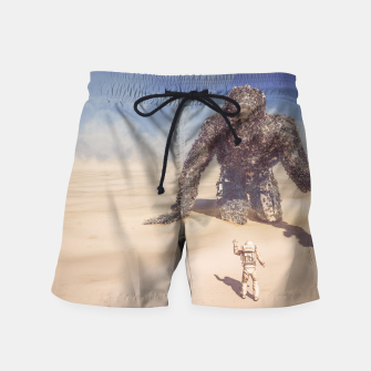 Thumbnail image of Wandering in the Desert Swim Shorts, Live Heroes