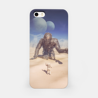 Thumbnail image of Wandering in the Desert iPhone Case, Live Heroes