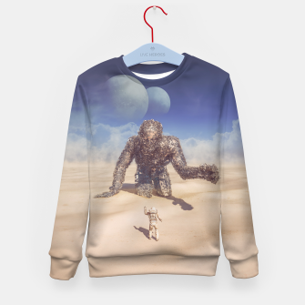 Thumbnail image of Wandering in the Desert Kid's Sweater, Live Heroes