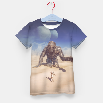 Thumbnail image of Wandering in the Desert Kid's T-shirt, Live Heroes