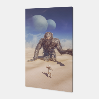 Thumbnail image of Wandering in the Desert Canvas, Live Heroes