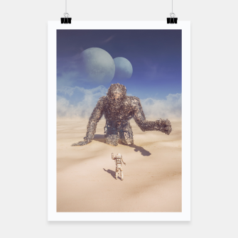 Thumbnail image of Wandering in the Desert Poster, Live Heroes