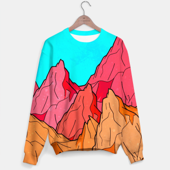 Miniatur The Red and Orange Mounts Sweater, Live Heroes