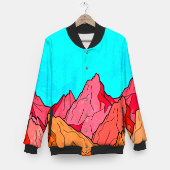 Miniatur The Red and Orange Mounts Baseball Jacket, Live Heroes