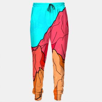 Miniatur The Red and Orange Mounts Sweatpants, Live Heroes