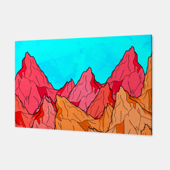 Thumbnail image of The Red and Orange Mounts Canvas, Live Heroes