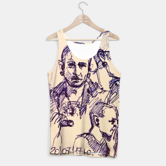 Thumbnail image of Chester Bennington linknpark memory Tank Top, Live Heroes