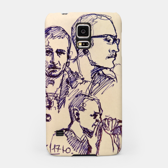 Thumbnail image of Chester Bennington linknpark memory Samsung Case, Live Heroes