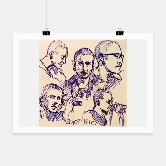Thumbnail image of Chester Bennington linknpark memory Poster, Live Heroes