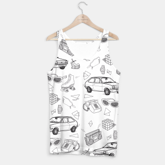 Thumbnail image of UNFORGETTABLE 80s Tank Top, Live Heroes
