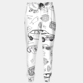 Thumbnail image of UNFORGETTABLE 80s Sweatpants, Live Heroes