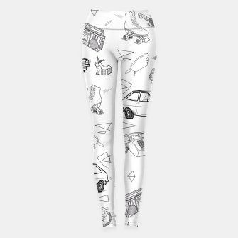 Thumbnail image of UNFORGETTABLE 80s Leggings, Live Heroes