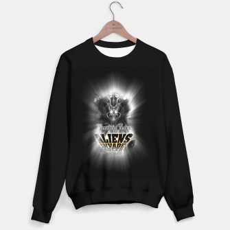 Thumbnail image of Aliens Invade 4 Beer Galaxy Attack FLMK Sweater regular, Live Heroes