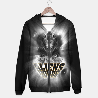 Thumbnail image of Aliens Invade 4 Beer Galaxy Attack FLMK Hoodie, Live Heroes