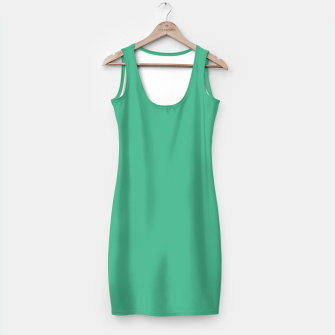 Thumbnail image of Greenery color Simple Dress, Live Heroes