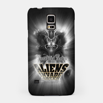 Thumbnail image of Aliens Invade 4 Beer Galaxy Attack FLMK Samsung Case, Live Heroes