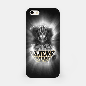 Thumbnail image of Aliens Invade 4 Beer Galaxy Attack FLMK iPhone Case, Live Heroes