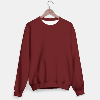 Miniatur Wine color Sweater, Live Heroes