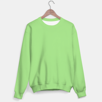 Miniatur Light green color Sweater, Live Heroes