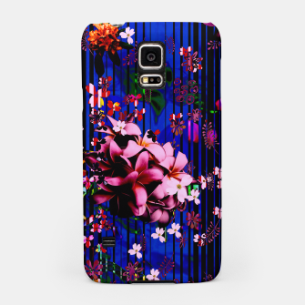 Thumbnail image of Floral striped Samsung Case, Live Heroes