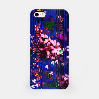 Thumbnail image of Floral striped iPhone Case, Live Heroes