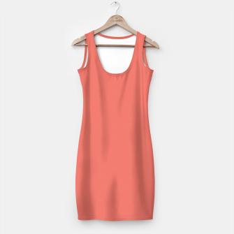 Thumbnail image of Coralino color Simple Dress, Live Heroes