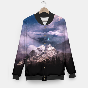 Thumbnail image of Space Time Deluxe Baseball Jacket, Live Heroes