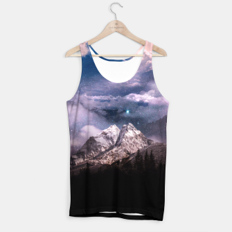 Thumbnail image of Space Time Deluxe Tank Top, Live Heroes