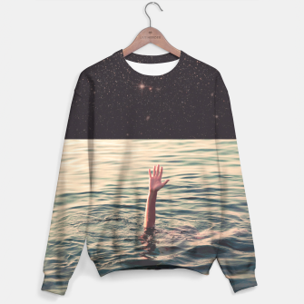 Thumbnail image of Drowned in space Sweater, Live Heroes
