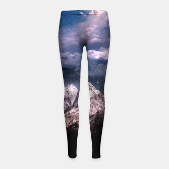 Space Time Deluxe Girl's Leggings thumbnail image