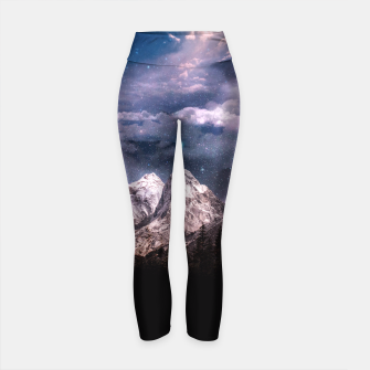 Thumbnail image of Space Time Deluxe Yoga Pants, Live Heroes
