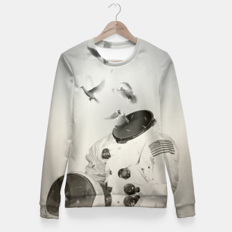 Miniatur doves Fitted Waist Sweater, Live Heroes