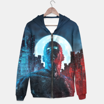 Thumbnail image of Urban Android Hoodie, Live Heroes