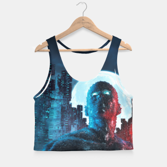 Thumbnail image of Urban Android Crop Top, Live Heroes