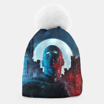Thumbnail image of Urban Android Beanie, Live Heroes
