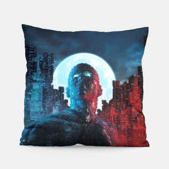 Thumbnail image of Urban Android Pillow, Live Heroes