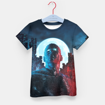 Thumbnail image of Urban Android Kid's T-shirt, Live Heroes