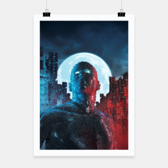Thumbnail image of Urban Android Poster, Live Heroes