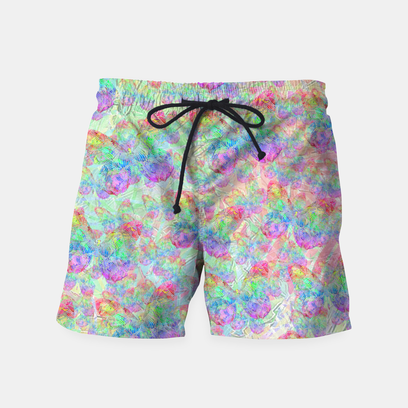 Image of butterfly Swim Shorts - Live Heroes