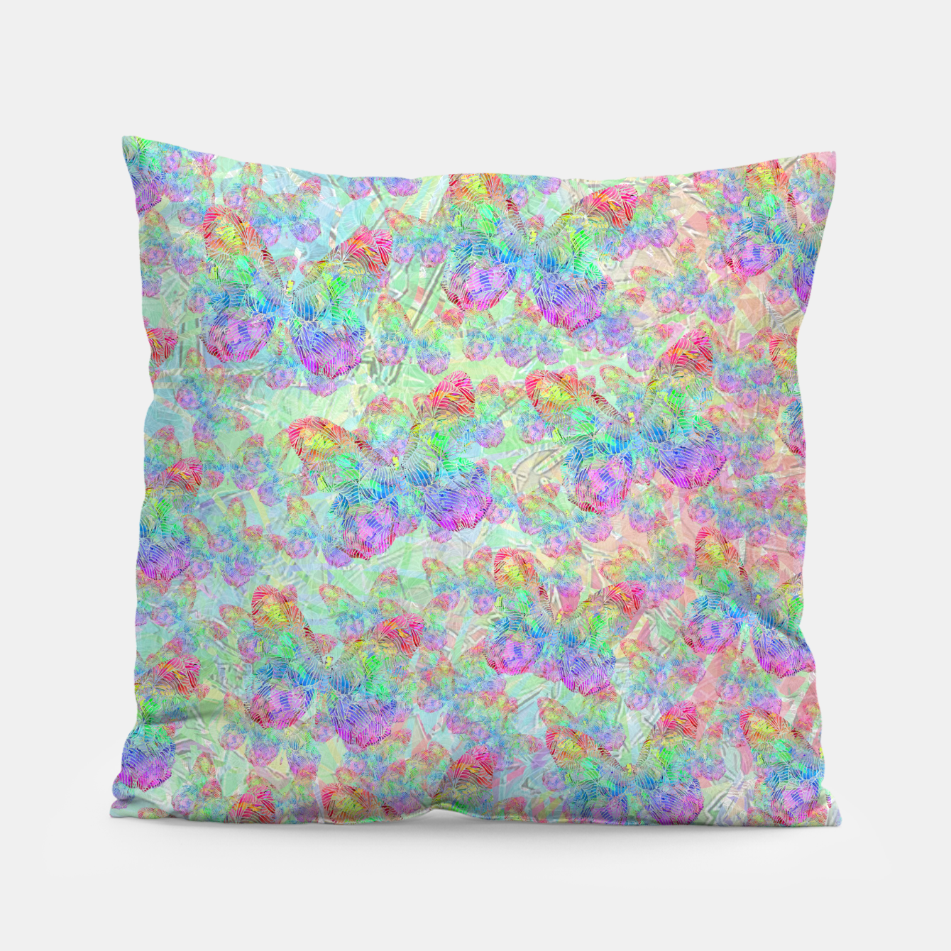 Image of butterfly Pillow - Live Heroes